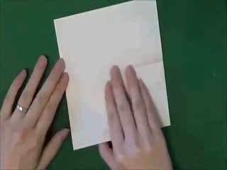 手工折纸视频教程 F22战斗机--华数TV