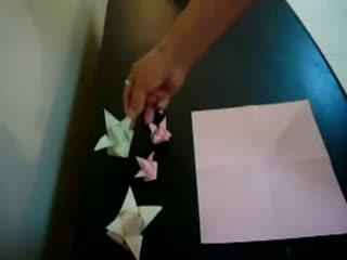 手工折纸大全教程 蝴蝶戒指的折法图片