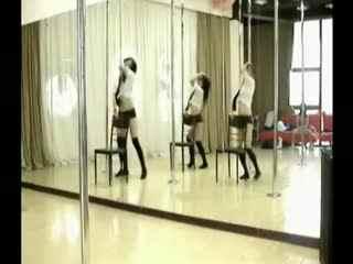 尚界钢管舞课程 钢管舞教学视频
