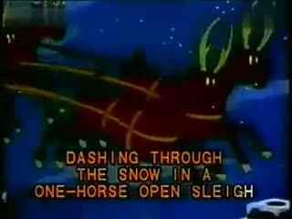 圣诞歌曲歌词铃儿响叮当英文儿歌 华数图片
