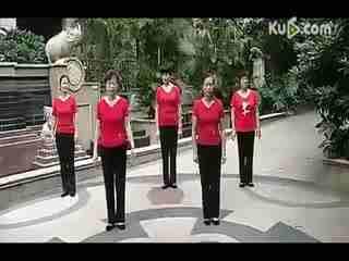 莉莉广场舞青海情歌_莉莉广场舞西海情歌含动作分解及背面慢速示