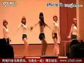 现代舞蹈教学视频天津爵士舞韩国美女舞团