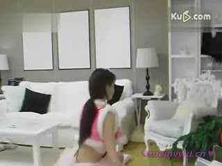 韩国女主播美女热舞诱惑自拍短裙制服美女