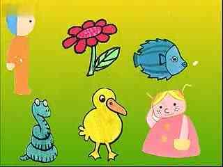 幼儿学画画视频 英语简笔画