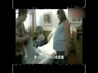 韩国美女孕妇阵痛视频