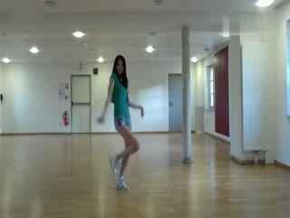 韩国美女牛仔女主播火辣热舞