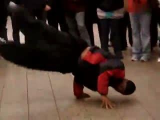 街舞教学分解动作 国外美女火爆街舞视频
