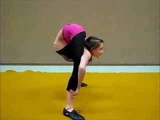 柔术训练 被动柔术 杂技柔术 软功图片