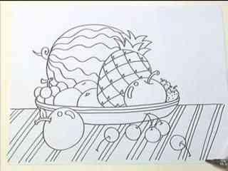 姜宏儿童简笔画教学 第二课之好吃的水果 3 华数tv