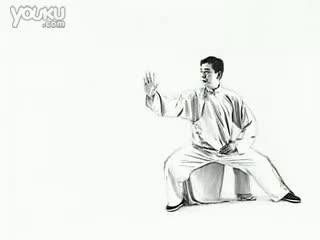 陈氏24式太极拳教学分解--喷泉TV教学视频华数图片