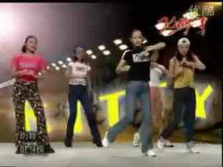 韩国女子街舞教学视频01