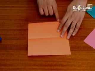 小学生简单手工折纸_小学生手工折纸大全_小学生手工折纸美丽的玫